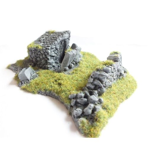 Javis Countryside Scenic Terain Ruined Outhouse No 3 RB42 Wargame Railway Modelling
